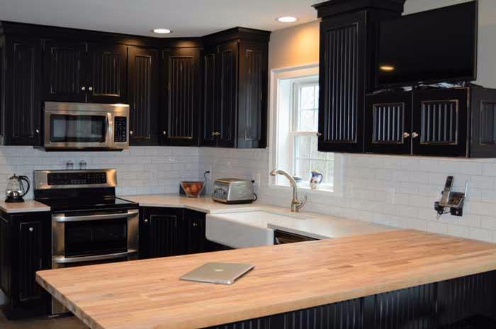 Boos Blended Maple Countertop Kbr Design Kitchens By Rich Eckler
